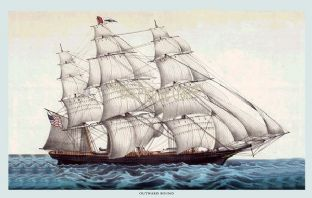 Clipper Ship - Outward Bound